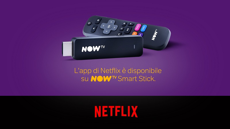 Photo of Now TV Box e Smart Stick aumentano i contenuti con l'app Netflix