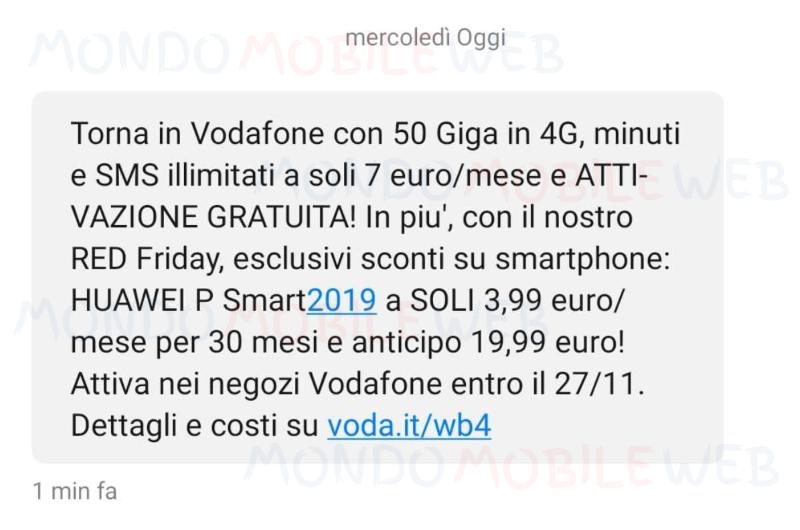Vodafone sms