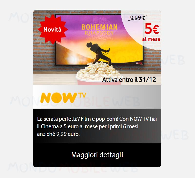 Vodafone Happy Black NOW TV
