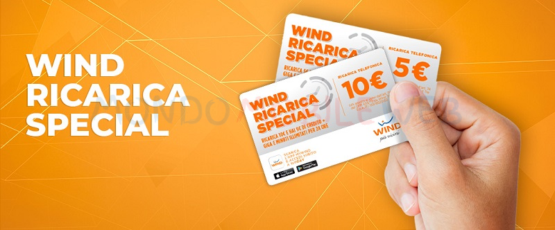 Wind ricarica Special
