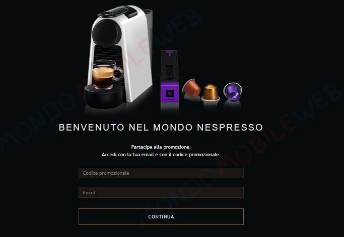 Vodafone Nespresso Happy Friday