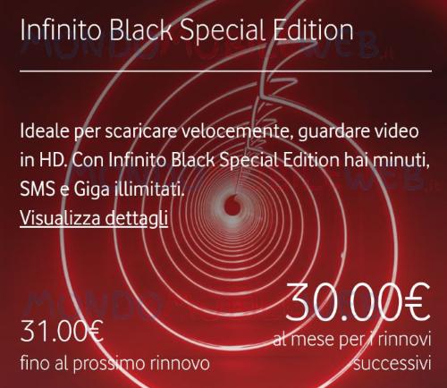 Infinito Black Special Edition