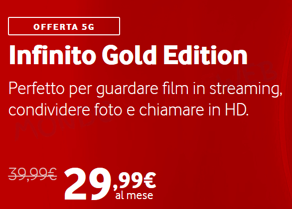 Vodafone Infinito Gold Edition