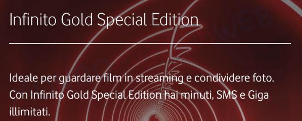 Infinito Special