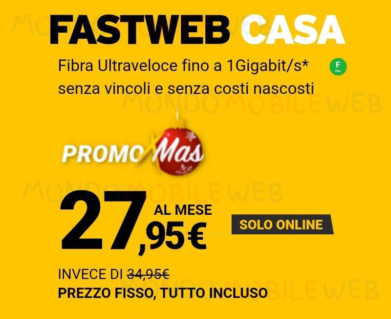 Fastweb Casa Promo Xmas