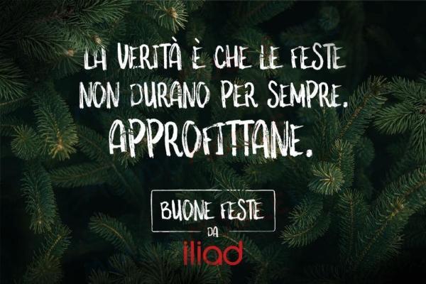 """Photo of Iliad augura buone feste a modo suo: """"Anche quest'anno niente pacchi. Nemmeno a Natale"""""""