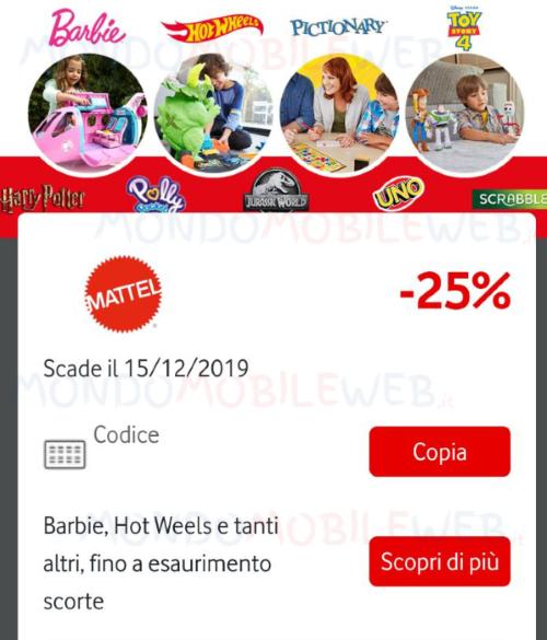 Vodafone Happy Mattel