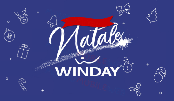 Photo of Wind a Natale regalerà 100.000 premi WinDay fra cui Buoni Amazon e Giga gratis