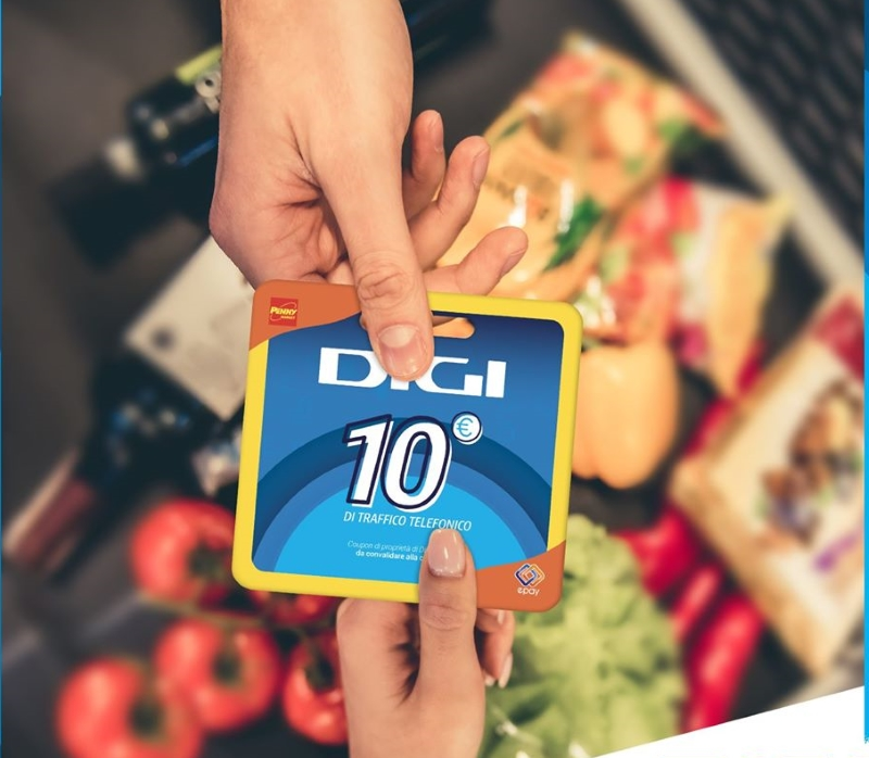 Photo of Digi Mobil: ricariche da 5 e 10 euro disponibili anche nei supermercati Penny Market