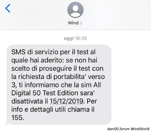 SMS Wind All Digital 50 Test Edition