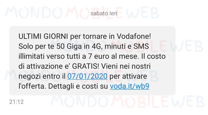 Vodafone Special Unlimited ultimi giorni