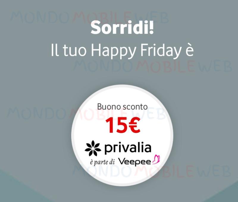 Vodafone Happy Privalia