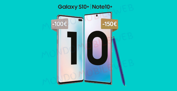 Photo of Samsung Power of 10 Pass: nuova promo con sconti fino a 150 euro su alcuni Galaxy S10 e Note 10
