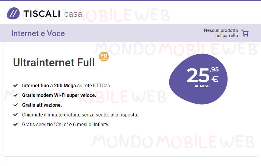 Tiscali UltraInternet