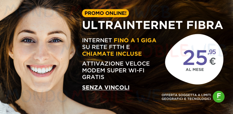 UltraInternet chiamate illimitate