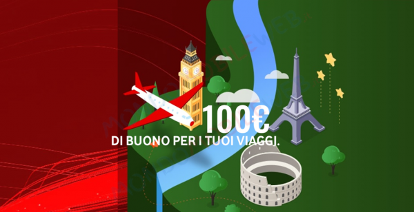 Photo of Vodafone Internet Unlimited: buono viaggio da 100 euro con promo online a 26,90 euro in Fibra FTTH