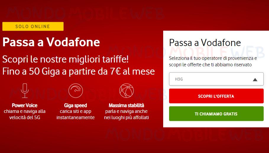 Passa a Vodafone Special