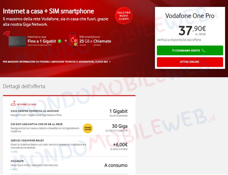 Vodafone One Pro
