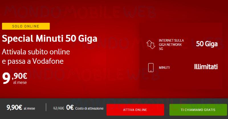 Vodafone Special Minuti Digital