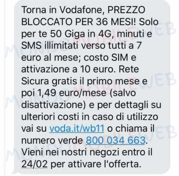 Torna in Vodafone 36 mesi