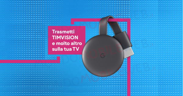 Photo of TIM Party: codice sconto per il pack con Google Chromecast e 3 mesi gratis di TIMVISION