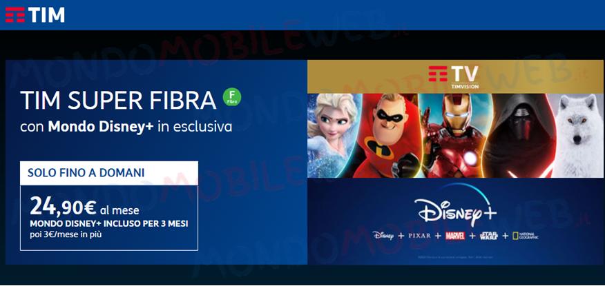 TIM Super Mondo Disney+