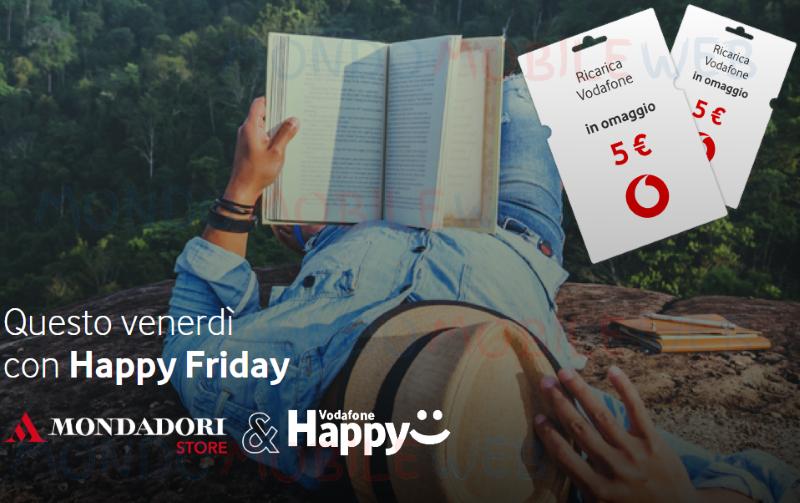 Happy Friday Mondadori ricarica