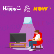 Vodafone Happy NOW TV Cinema