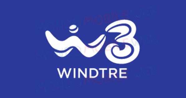 Wind Tre logo brand unico