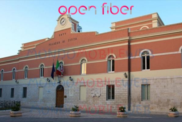 Photo of Open Fiber: fibra ottica in modalità FTTH anche nella città di Corato
