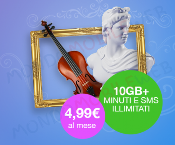 Photo of PosteMobile: ritorna Creami Wow 10GB con minuti e sms illimitati a 4,99 euro al mese