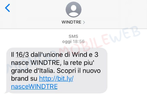 WINDTRE SMS