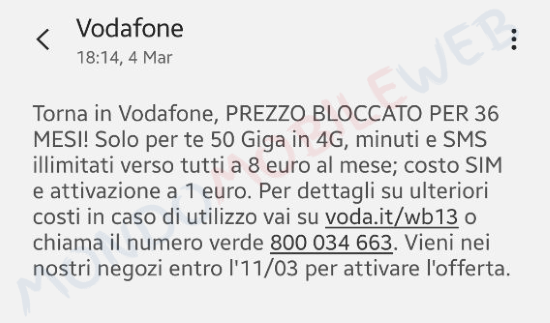 Torna in Vodafone Special Unlimited