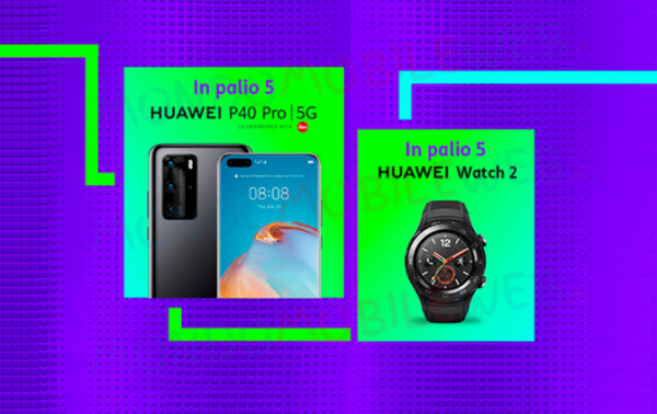 Photo of TIM mette in palio Huawei P40 Pro 5G e Watch 2 con il nuovo concorso TIM Party