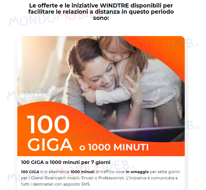 100 Giga gratis
