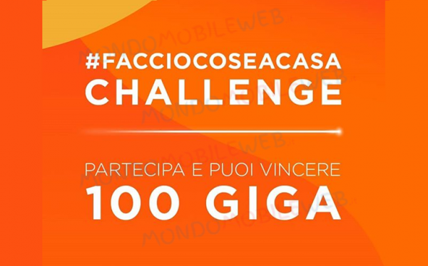 WINDTRE 100 Giga contest Instagram