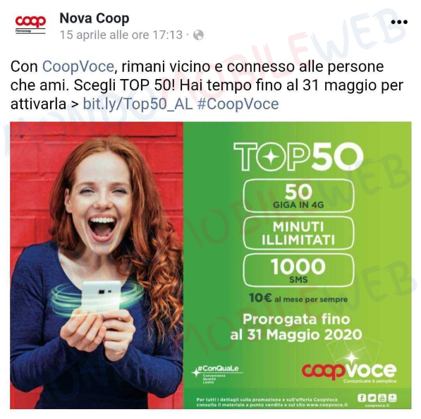 CoopVoce Top 50