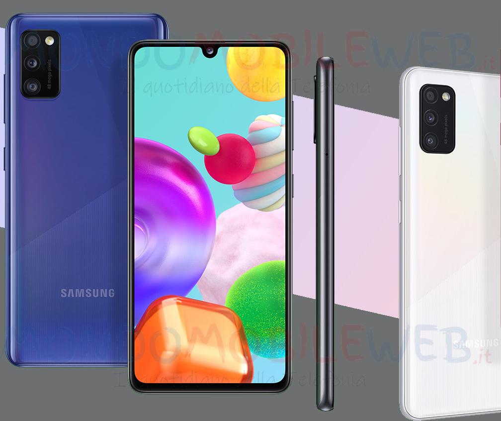 Photo of E' disponibile in Italia il nuovo Samsung Galaxy A41 con fotocamera anteriore da 25MP