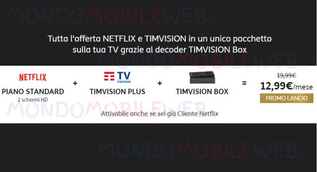 TIMVISION Mondo Netflix