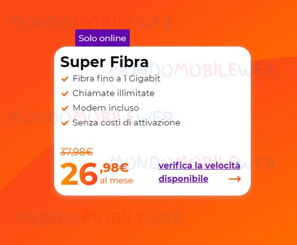 rete fissa Super Fibra