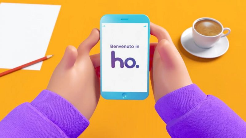 Photo of ho. mobile: nuovo spot realizzato in 3D per la prima campagna Digital TV