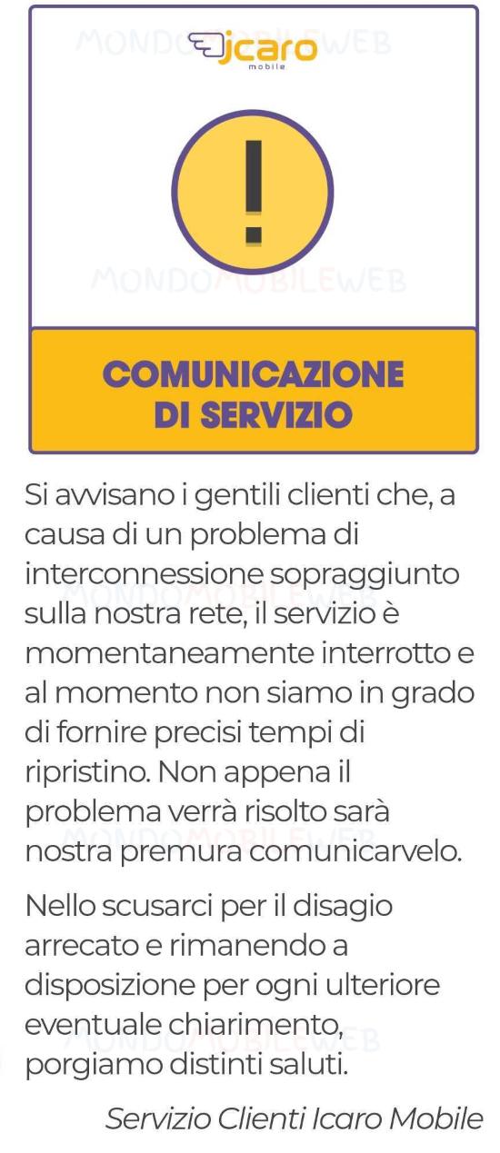 Icaro Mobile comunicazione