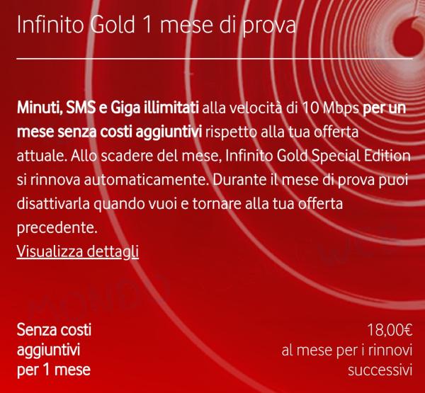 Vodafone Infinito spot