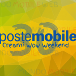 PosteMobile Creami WOW Weekend 30GB