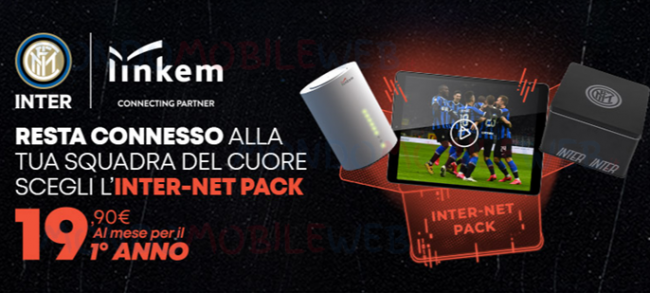 Linkem Inter-Net Pack: nuova offerta per tifosi interisti con Membership e  contenuti dedicati - MondoMobileWeb.it - Telefonia, Offerte e Notizie