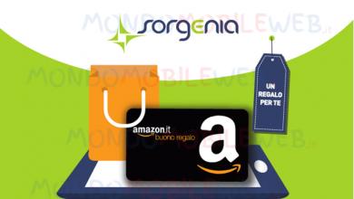Photo of Sorgenia: buono Amazon da 70 euro attivando oggi un nuovo contratto luce e gas