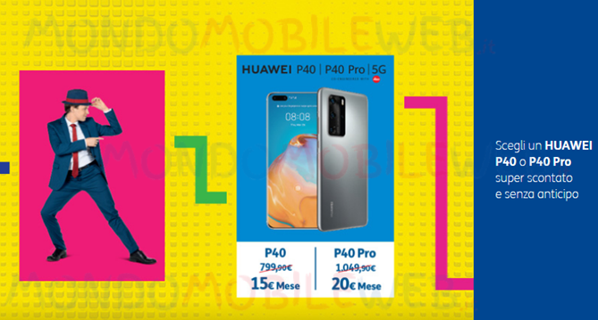 Huawei P40 promo Party
