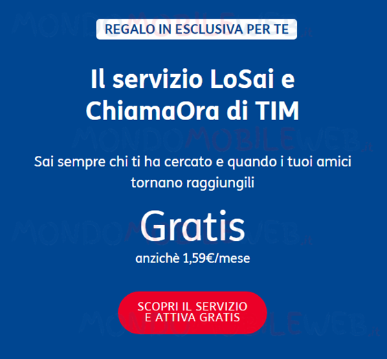 TIM LoSai ChiamaOra