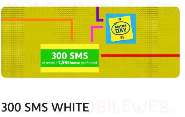 MyTIM Day 300 SMS White