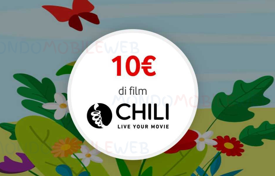 Photo of Vodafone Happy Friday: ecco il coupon di 10 euro per noleggiare film su Chili